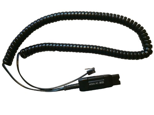 His Cord For Plt Qd Compatible Headsets On Avaya 9600 Series Phones