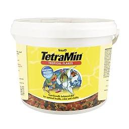 Tetra 16623 TetraMin Tropical Flakes, 4.52-Pound, 10-Liter
