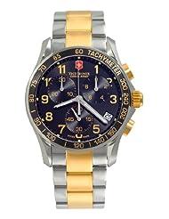 Victorinox Swiss Army Men's 241170 Chrono Classic Black Dial Watch