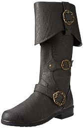 Funtasma Men\'s Carribean Boot,Black Distressed,Medium/10-11 M US