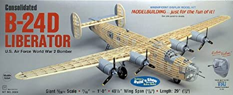 Maquette en bois - B-24D Liberator