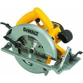 DEWALT DW368K Heavy-Duty 7-1/4-Inch Lightweight Circular Saw Kit
