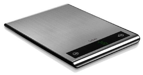 Surpahs Touch Anti-Fingerprint 11 Lb/5 Kg Precision Digital Kitchen Food Scale w/ LED Display