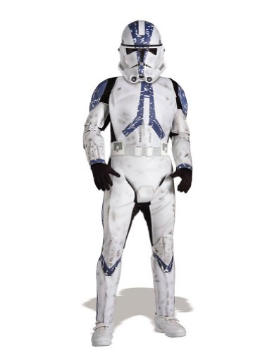 Clone Trooper Lg Child Kids Boys Costume