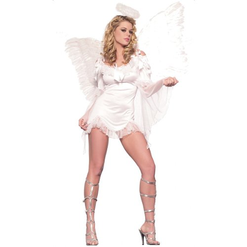 French Angel Costume - Medium/Large - Dress Size 8-12