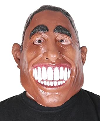 RUBIES Barack Obama US President Latex Mask Halloween Costume Disguise Party