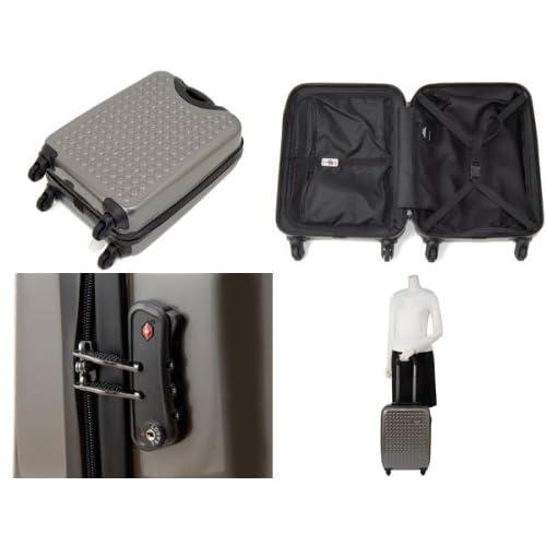 (ドットドロップス) DOT-DROPS スーツケース 12124PCK-GRAY グレー [並行輸入品]