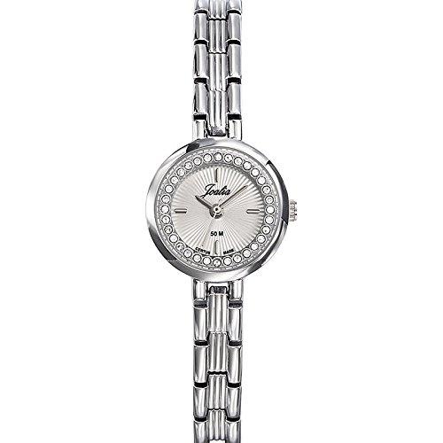 Joalia-633338-Orologio da donna con cinturino in metallo con quadrante, colore: argento