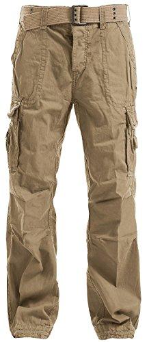 Brandit Royal Vintage Trousers Pantaloni tempo libero beige S