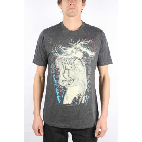 Lady Gaga     Scribbles 30 / 1 Tee Mens T Shirt in schwarz