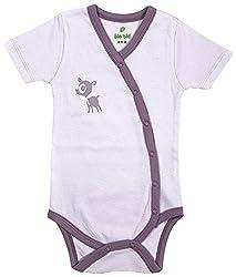 BIO KID Clothing Set for Kids (BG1I-T173-68_3-6 Months, 3-6 Months, Light Purple)
