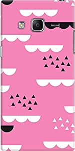 galaxy z3 back case cover ,Geometric Sky Pink Designer galaxy z3 hard back case cover. Slim light weight polycarbonate case with [ 3 Years WARRANTY ] Protects from scratch and Bumps & Drops.