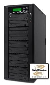 SPARTAN 9 Target SATA Light-Scribe Tower DVD Duplicator D09-SSP-L