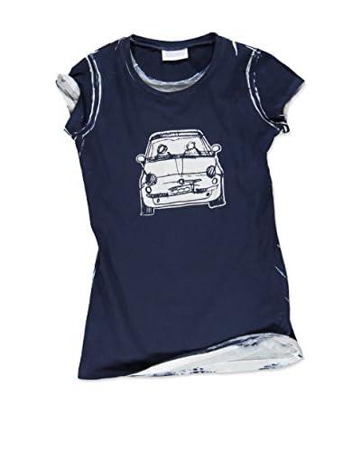Fiat T-Shirt Manica Corta [Blu]