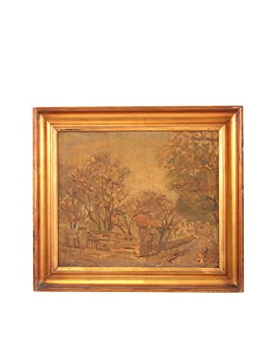 Autumn's Gold Oil Painting, Gold
