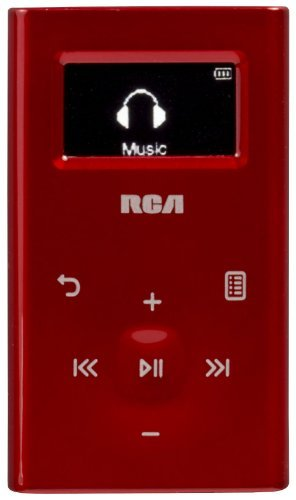 RCA M2204RD Ultra Compact 4 GB Digital Audio Player