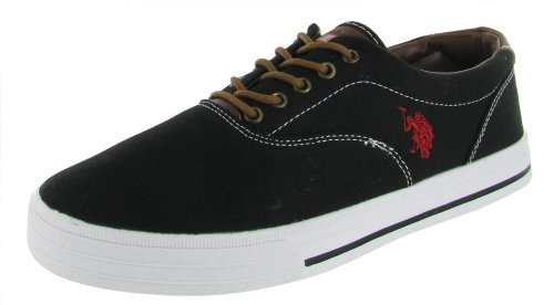 U.S. US Polo Assn Skip Men's Lace Up Casual Boat Shoes Canvas