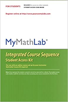 mymathlab coursecompass integrated course sequence