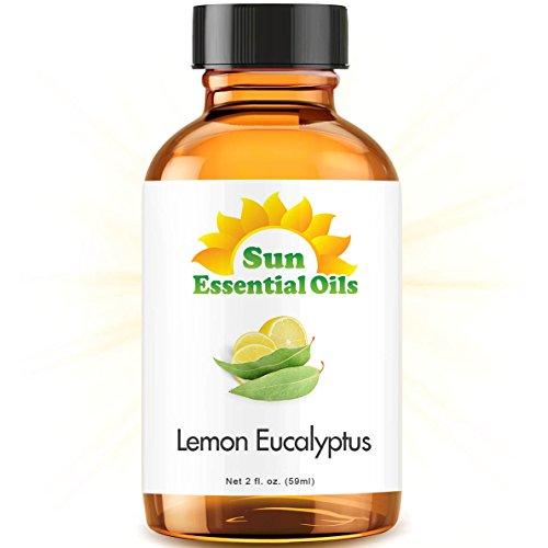 Lemon Eucalyptus (2 fl oz) Best Essential Oil - 2 ounces (59ml)