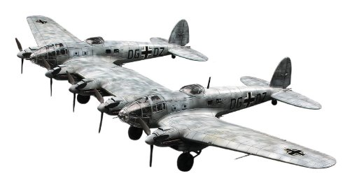 Hasegawa 1:72 Heinkel HE111Z Zwilling Model Kit