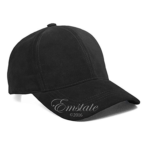 emstate-suede-leather-baseball-caps-made-in-usa-black