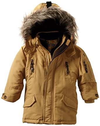 Timberland Little Boys' Snorkle Jacket, Gold, 3T