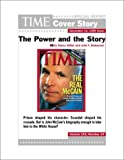 img - for The Power and The Story : TIME Magazine Cover Story book / textbook / text book