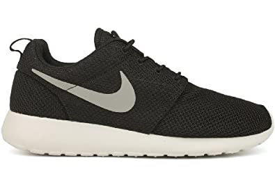 Nike Roshe Run - Black / Medium Grey-Hyper Blue, 10.5 D US