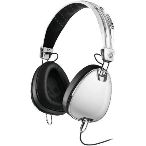 Skullcandy Aviator With Mic3 Premium Wired Headphone - White / One Size