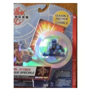 Bakugan Battle Brawlers Special Attack Blue Trap
