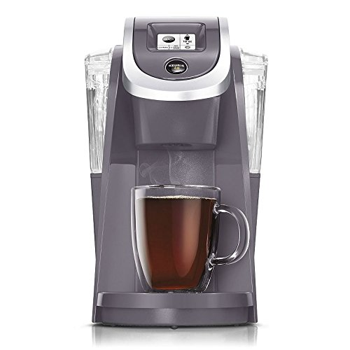 Keurig K250 PLUS 2.0, Brewing System Single Serve Plus Coffee Maker, PLUM GRAY (Newest Color, Very Rare)