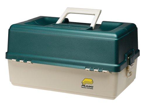 Fishlander tackle boxes plano large 6 tray tackle box for Plano fishing box