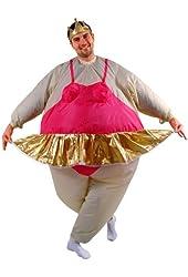 Gemmy - Inflatable Ballerina Adult Costume