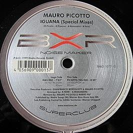 Mauro Picotto - Iguana (Mas Mix/picotto Tea Mix) / Vinyl Maxi Single [vinyl 12