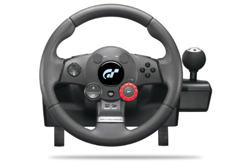 Logitech PlayStation 3 Driving Force GT Racing Wheel (Logitech Steering Wheel Ps3 compare prices)