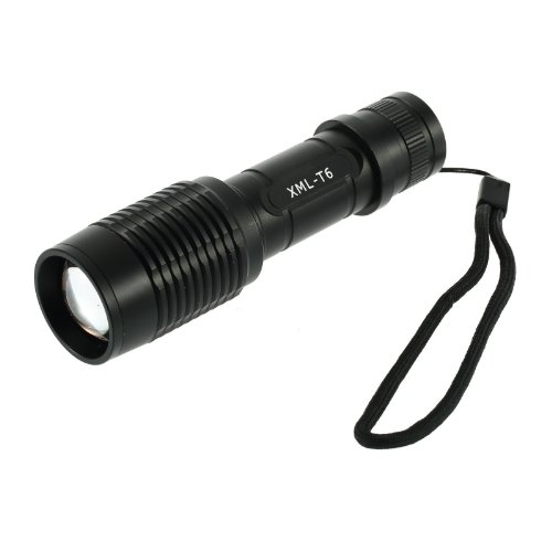 7 Mode Cree Xm-L T6 Led Adjustable Focus Zoomable Flashlight Torch 1600 Lumen Hs