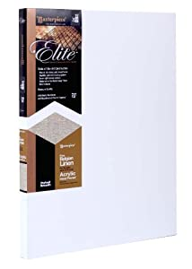Masterpiece Artist Canvas Elite Canvas, 18-Inch by 72-Inch, Portrait Smooth Acrylic Primed Belgian Linen