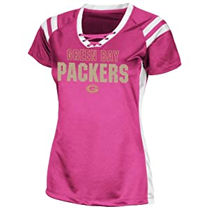 Team Apparel Nfl Green Bay Packers Pink Draft