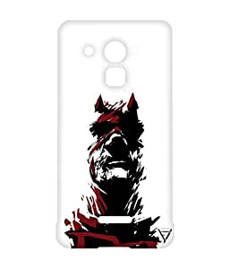 Vogueshell Batman Printed Symmetry PRO Series Hard Back Case for Coolpad Note 3 Lite