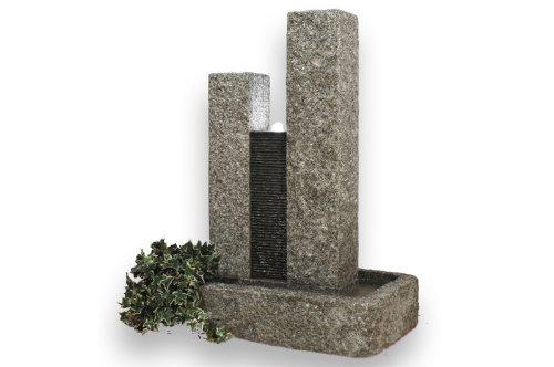 brunnen aus granit inkl led beleuchtung 82x51x108cm. Black Bedroom Furniture Sets. Home Design Ideas