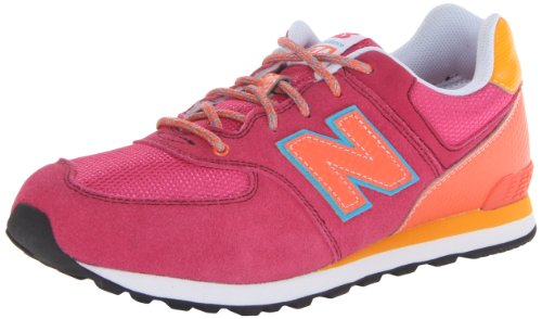 new-balance-574-fille-baskets-mode-rose