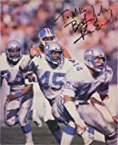 Signed Easley, Kenny (Seattle Seahawks) Magazine Page (Personalized - To Mike) autographed at Amazon.com
