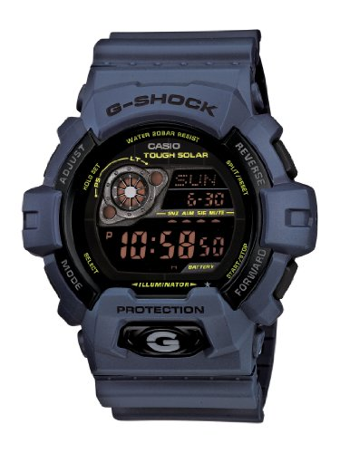 Casio Men's GR8900NV-2 G-Shock Tough Solar Power Military Navy Digital Watch