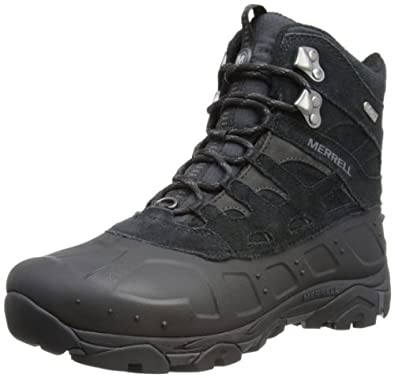 Merrell Men's Moab Polar Waterproof Winter Boot | Amazon.com
