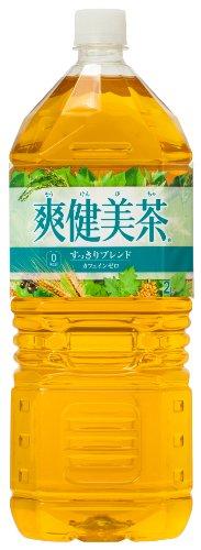 [2CS] 爽健美茶 すっきりブレンド(2L×6本)×2箱