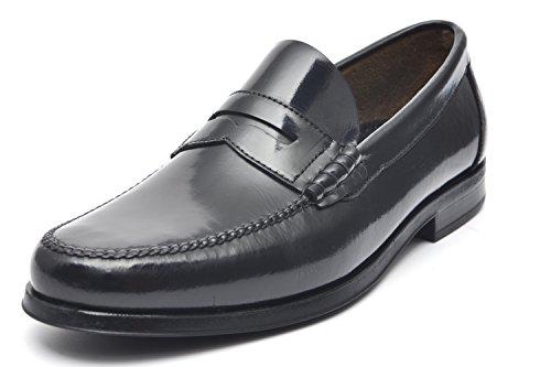 G&P cobbler Mocassini Artigianali, Colore: Nero, Taglia: 46