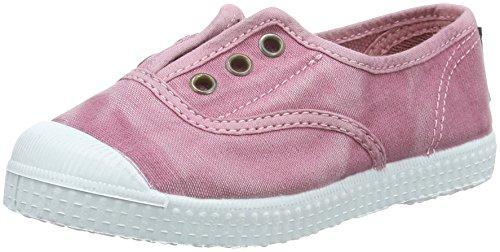 Natural World Ingles Puntera Tintado Enzimatico - Sneakers Bambina, Rosa (Pink 42), 29