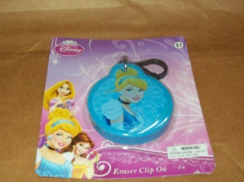 Jumbo Disney Princess Clip on Eraser - Cinderella