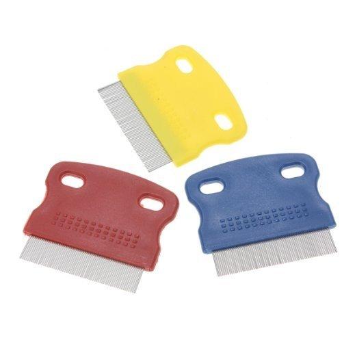 MANGO-Peine de dientes finos para su mascota/Peina para eliminar pulgas