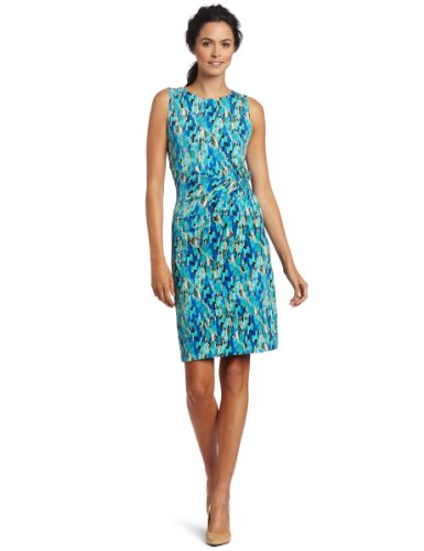 Anne Klein Women's Abstract Print Dress